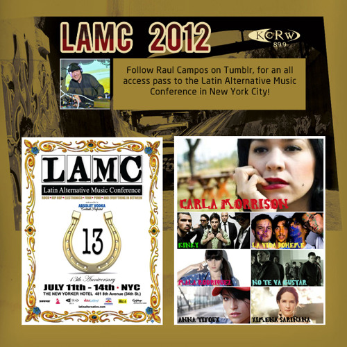 KCRW's Raul Campos with Psycho Realm at LAMC 2012
