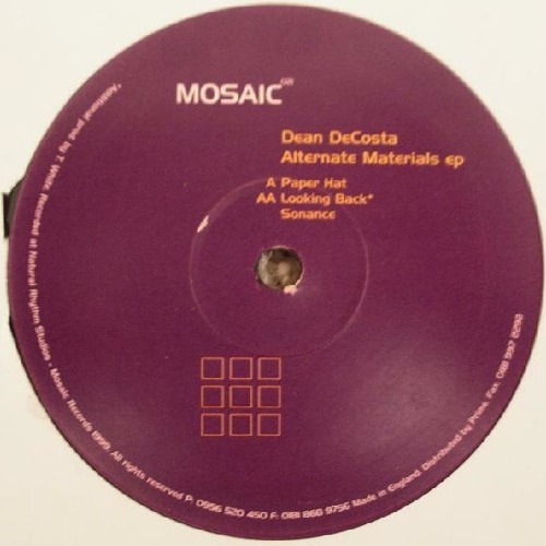 """Paper Hat"" - Alternate Materials EP - Mosaic 021"