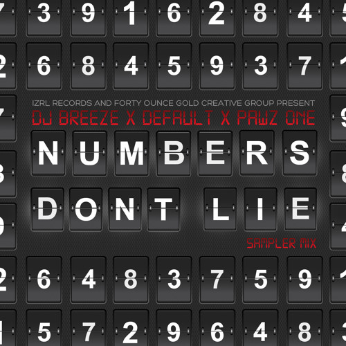 "PAWZ ONE - Pawz One x Default x Breeze ""Numbers Don't Lie"""