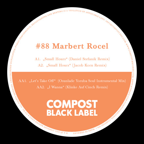 Marbert Rocel - Small Hours (Jacob Korn Remix) SNPPT