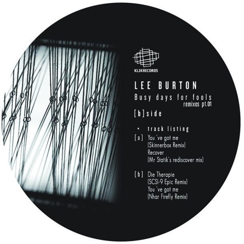 Lee Burton - You've got me - Nhar Firefly Remix - Klik Records