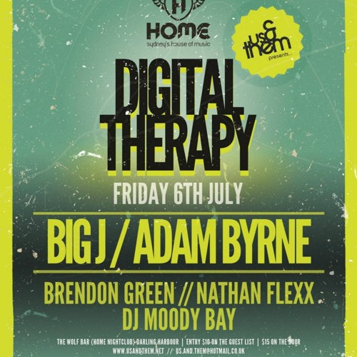 Digital Therapy July 2012 Mixed by Big J