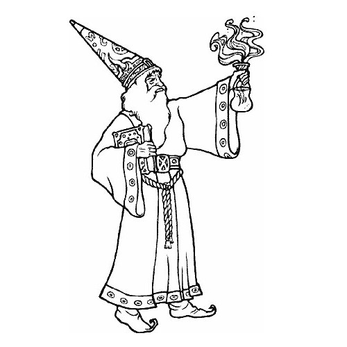 The Wizard Became So Tall