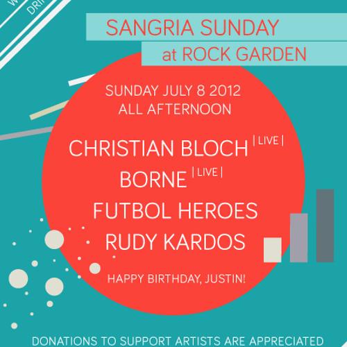 borne - live@ rizumu's sangria sunday 070812