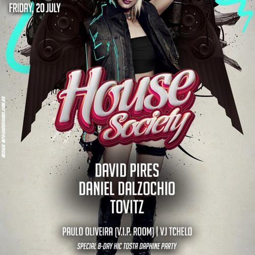 DJ Daniel Dalzochio live @ Josephine SP - 20.07.2012