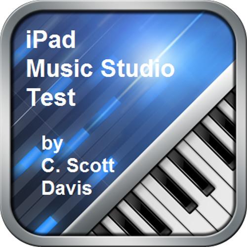 iPad Music Studio Test