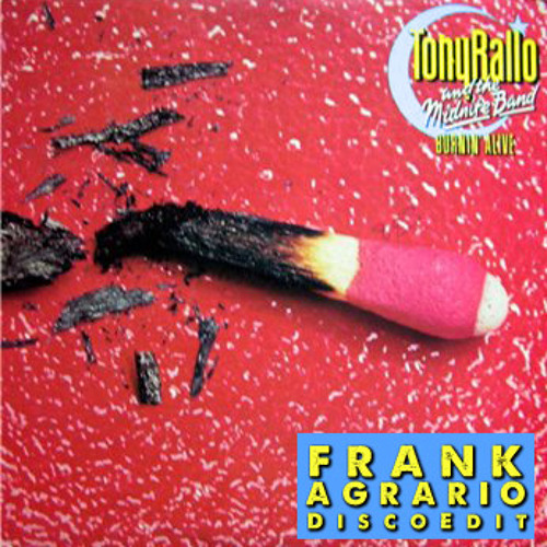Tony Rallo - Holdin' On (FRANK AGRARIO EDIT)