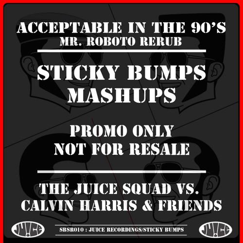 SBSR010, Acceptable In The 90's (Mr. Roboto Rub) TJS vs Calvin Harris And Friends