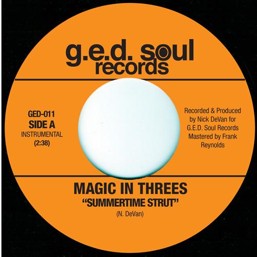 Magic In Threes - Magic Mark in tha Summer Time