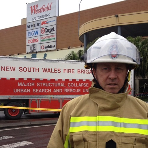 Supt. Tom Cooper - update re structure collapse 24/7/12 at Westfield Eastgardens