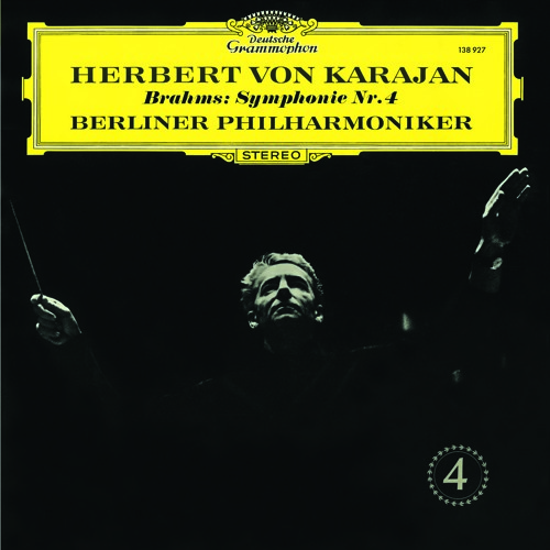Karajan and the Berlin Phil perform Brahms' Symphony No.4 in E minor, Op.98 (4th mvmt)