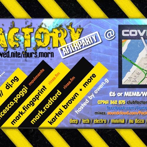 DJ NG random factory 2012 mix