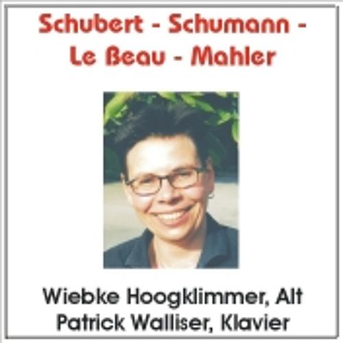 Franz Schubert - Der Einsame (Wiebke Hoogklimmer, Alt - Patrick Walliser, Klavier)