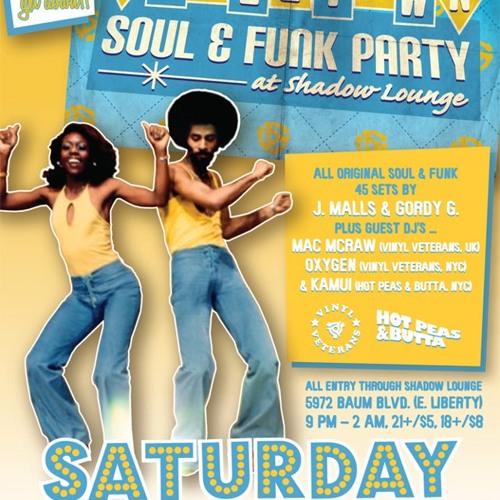 TITLE TOWN Soul & Funk Party - LIVE MIX Volume 1 (June 30, 2012)