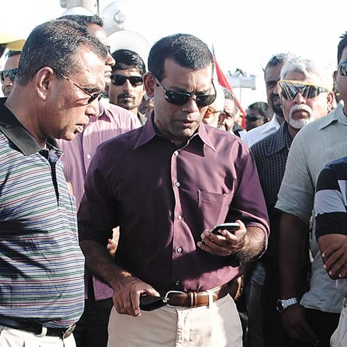 Nasheed and Maria's phone call
