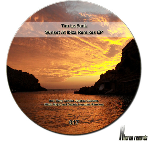 Tim Le Funk - Sunset At Ibiza (Andres Galeano Remix) //AR017 Out Now on Traxsource