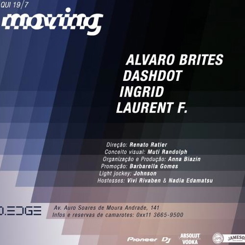 Dashdot Live @ Moving, D-Edge - 19.07.12 [FREE DOWNLOAD]