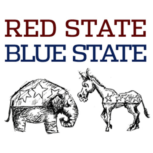 KCRW: To the Point's Red State Blue State