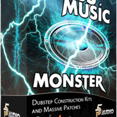 Bass Music Monster Dubstep Construction Kits