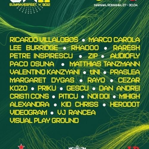 Valentino Kanzyani & Herodot  - Sunwaves 11 - Mamaia (Romania)