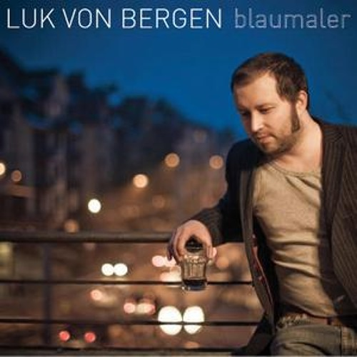 "In the studio - Luk von Bergen - ""Blaumaler"""
