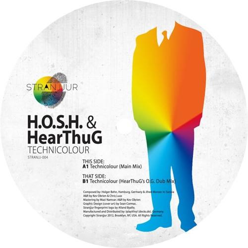 H.O.S.H. & HearThuG - Technicolour (Main Mix) - Snippet - [Stranjjur imprint] - Out 09.08.2012