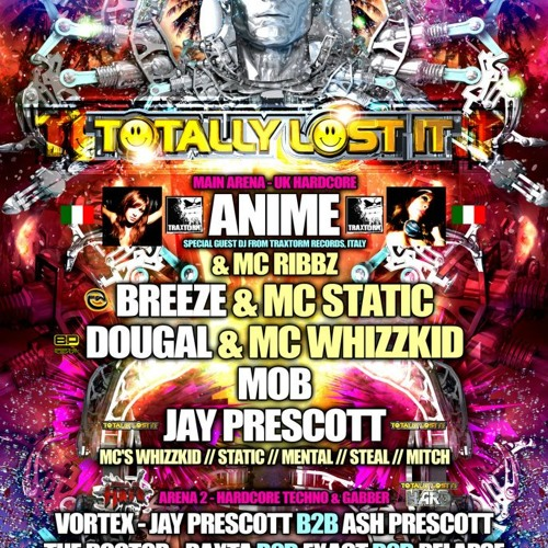 FREE DOWNLOAD: DJ AniMe @Totally Lost It - Manchester (UK) 13/07/2012