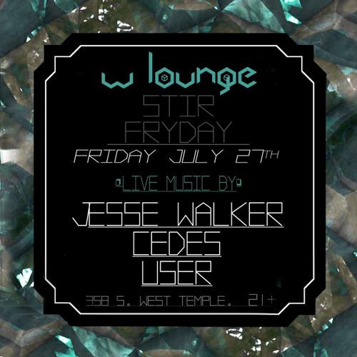 Jesse Walker Live @ Stir Friday 7/12/12