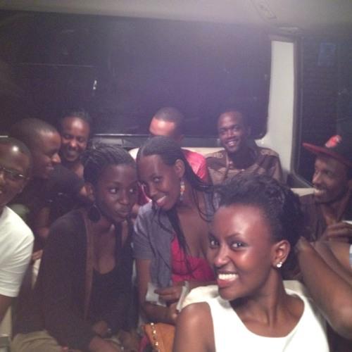 Miss Rwanda celebrations on the way back to Kigali