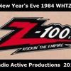 Z-100 WHTZ 100.3 FM New York, New Years Eve 1984