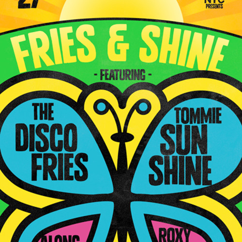 Roxy Cottontail Live at Pacha NYC's FRIES & SHINE July 27th 2012