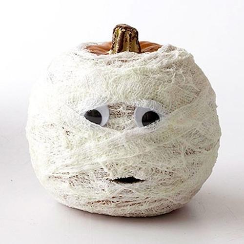 Gauze Pumpkin