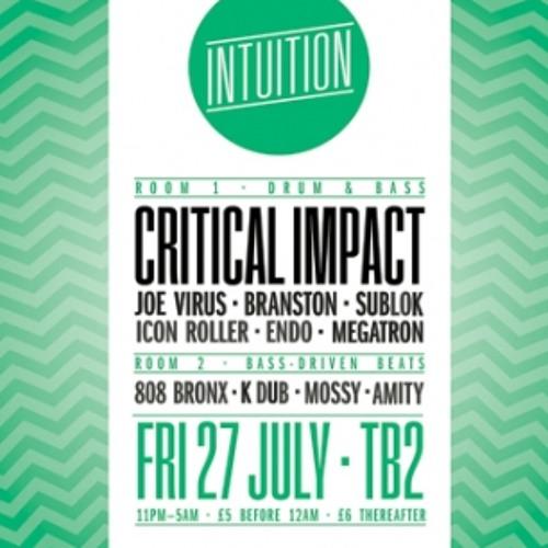 BRANSTON @ INTUITION // TIMBUK2 27/07/12