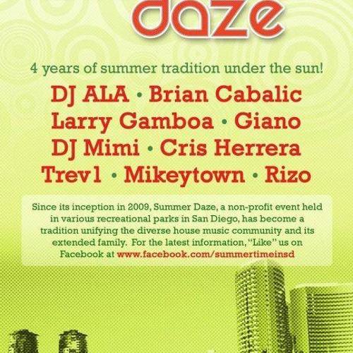 TREV1 LIVE @ Summer Daze 7-21-2012
