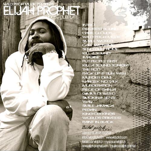Elijah Prophet - 100% Dubplate (Wild Pitch Muzik)