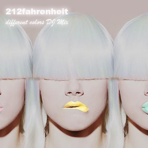 "212fahrenheit - ""different colors"" Dj-Mix"