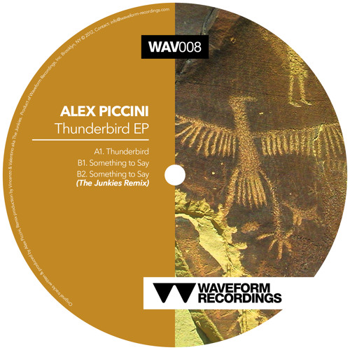 Alex Piccini - Something To Say (The Junkies Remix) [SC-EDIT]
