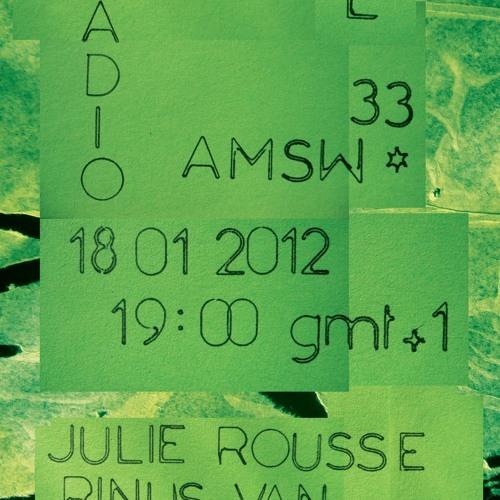 trio Rinus van Alebeek, Anton Mobin and Julie Rousse