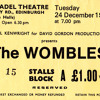 My First Concert: The Wombles, 1974, Edinburgh