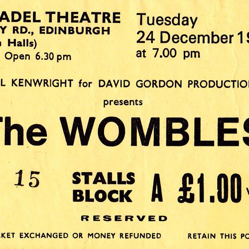 My First Concert: The Wombles, 1974, Edinburgh