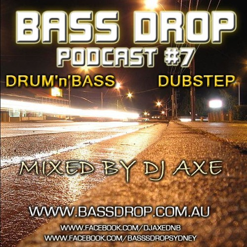BassDrop Podcast #7 Drum n Bass & Dubstep Special ( Free Download )
