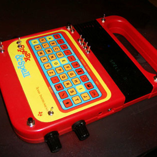 Some random free Speak & Spell gibberish
