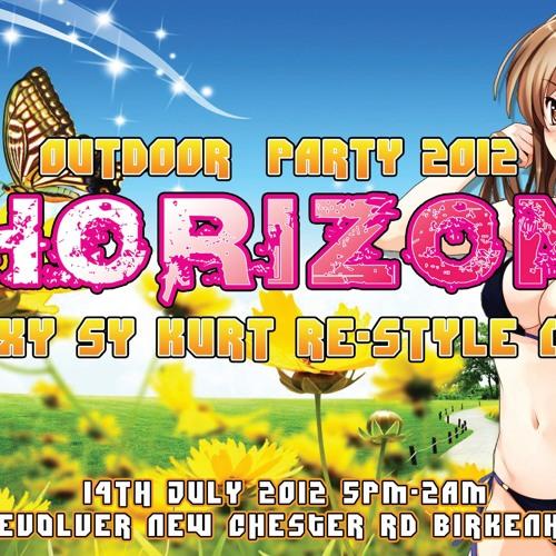 Wiggi B2B Ben X-Treme @ Horizon Outdoor 2012 (mini teaser)  - (D/L Link For Full Mix In Description)