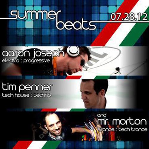 Tim Penner Live @ Summer Beats 2012