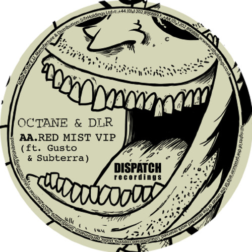 Octane & DLR - Red Mist VIP (ft. Subterra & Gusto) - Method in the Madness - Dispatch - OUT NOW