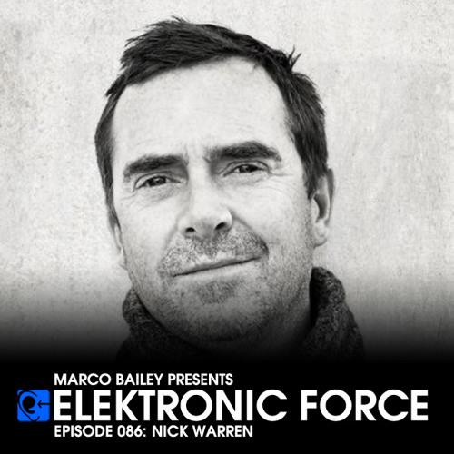 Elektronic Force Podcast 086 with Nick Warren