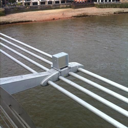 Martyn Ware Sound Piece at Millennium Bridge