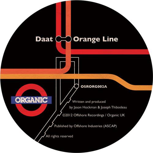 "OSRORG002A - Daat - ""Orange Line"""