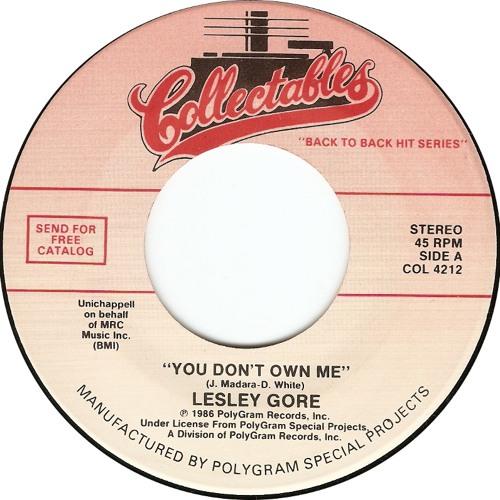 You Don't Own Me-feat Dominique Rene Bernard