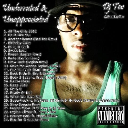 Underrated & Unappreciated Mixtape [DOWNLOAD LINK IN DESCRIPTION]